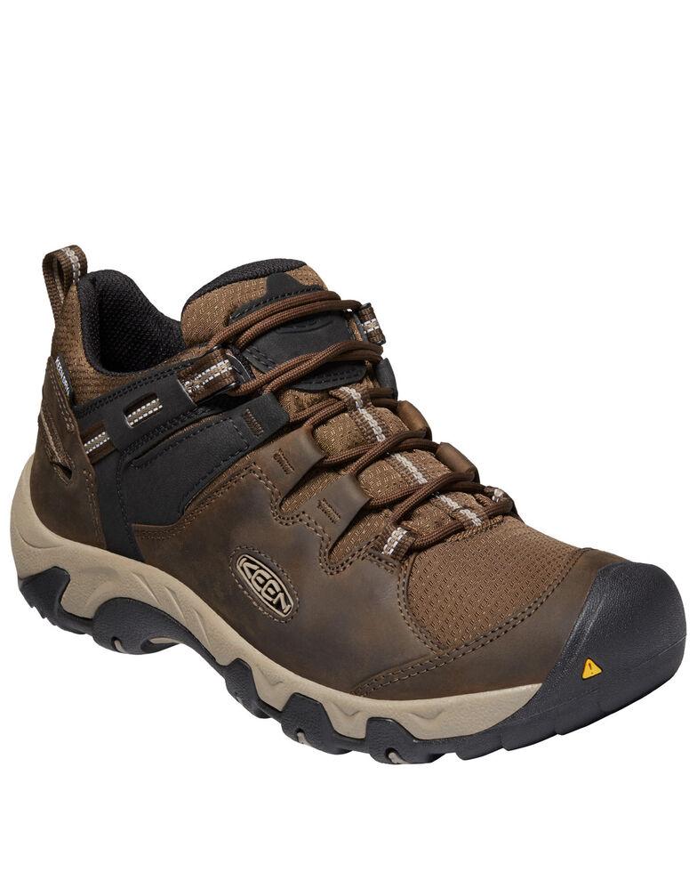 Keen Men's Steens Waterproof Hiking Boots - Soft Toe, Brown, hi-res