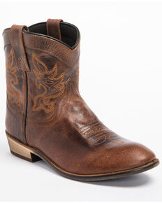 "Dingo Women's 6"" Willie Western Fashion Boots, Brown, hi-res"