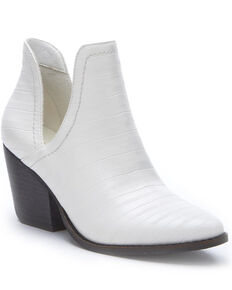 Matisse Women's Trader Fashion Booties - Round Toe, White, hi-res