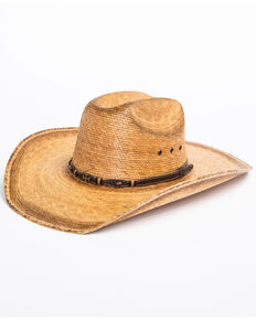 7d0abbb271f Cody James Boys Toasted Palm Cross Cowboy Hat