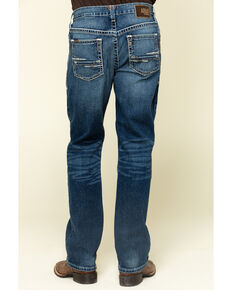 Ariat Men's M2 Summit Stretch Stackable Relaxed Bootcut Jeans , Blue, hi-res