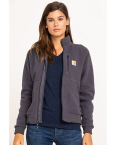 Carhartt Women's High Pile Fleece, Grey, hi-res