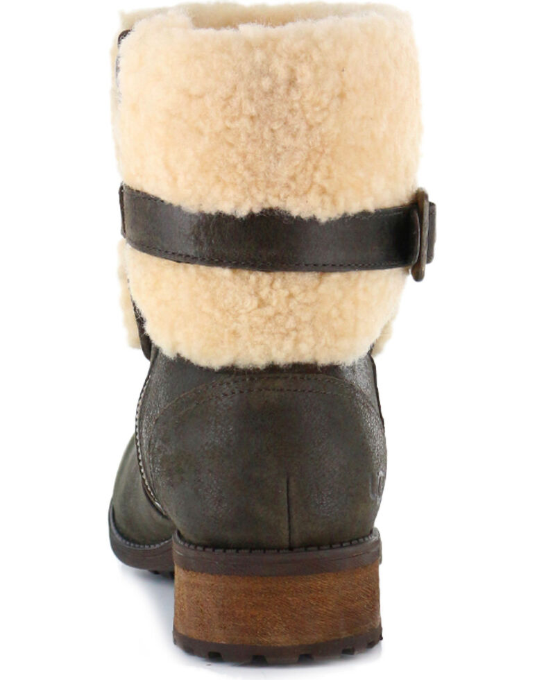 fed0252439a UGG Women's Lodge Avalahn Blayre II Boots - Round Toe