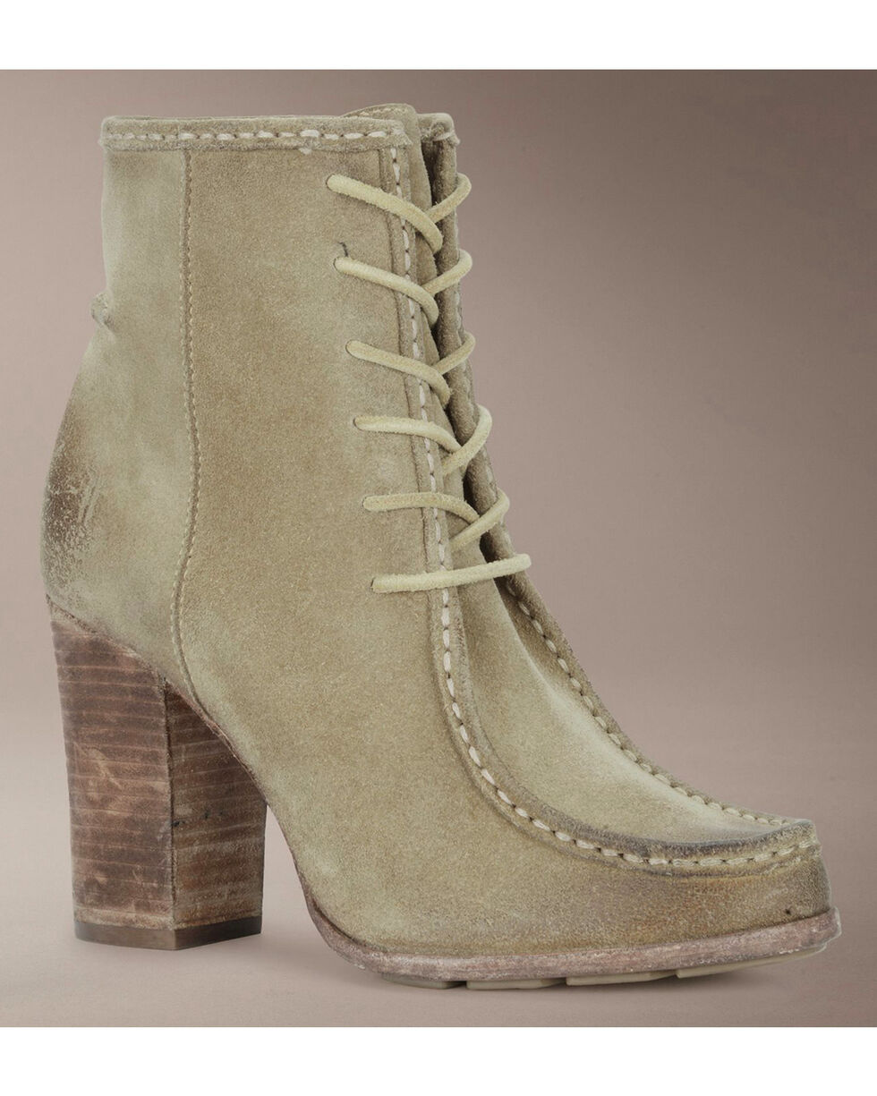 Frye Parker Moc Short Lace-Up Boots, Natural, hi-res