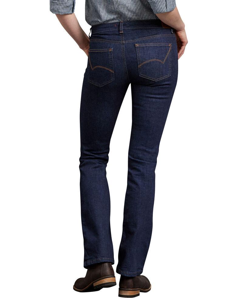 Dickies Women's Perfect Shape Denim Bootcut Jeans, Indigo, hi-res