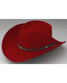 Outback Unisex Durango Hat, Red, hi-res