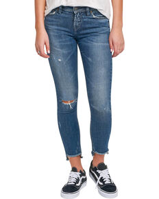 286f9bd5a71 Silver Women s Calley Ankle Skinny Jeans