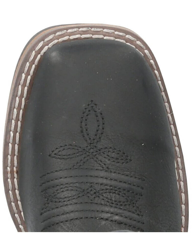 Smoky Mountain Duke Western Boots - Square Toe, Black, hi-res