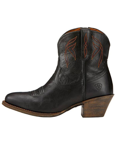 Ariat Women's Darlin Booties, Black, hi-res