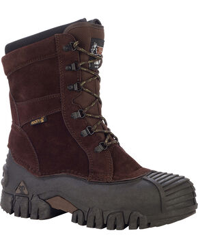 Rocky Jasper-Trac Insulated Outdoor Boots - Round Toe, Brown, hi-res