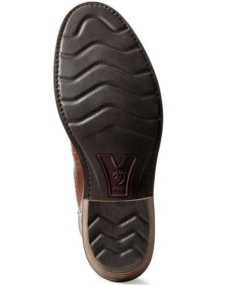 Ariat Men's Heritage Stockyard Western Boots - Round Toe, Brown, hi-res