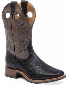 """Boulet Men's 12"""" Medium Square Toe Rider Sole Boots, Black, hi-res"""
