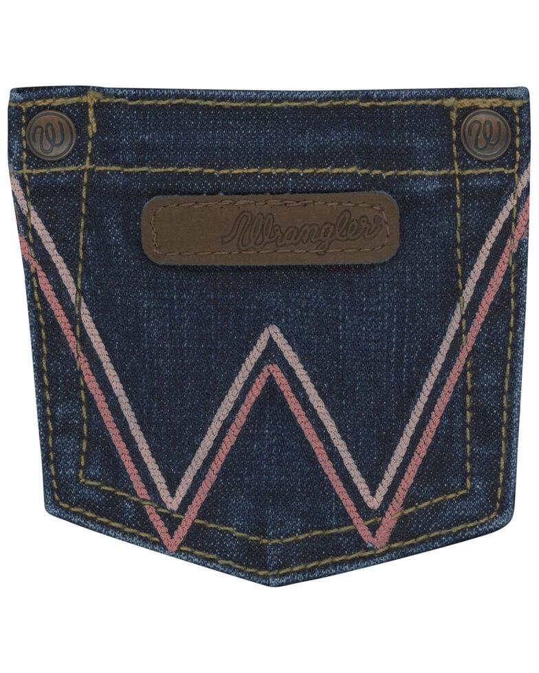 Wrangler Girls' Emma Bootcut Jeans, Blue, hi-res
