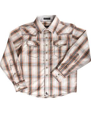 Cody James® Toddler Boys' Trooper Long Sleeve Shirt, Brown, hi-res