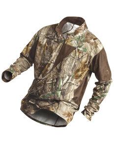 Rocky Men's SilentHunter 1/4-Zip Camo Pullover, Camouflage, hi-res
