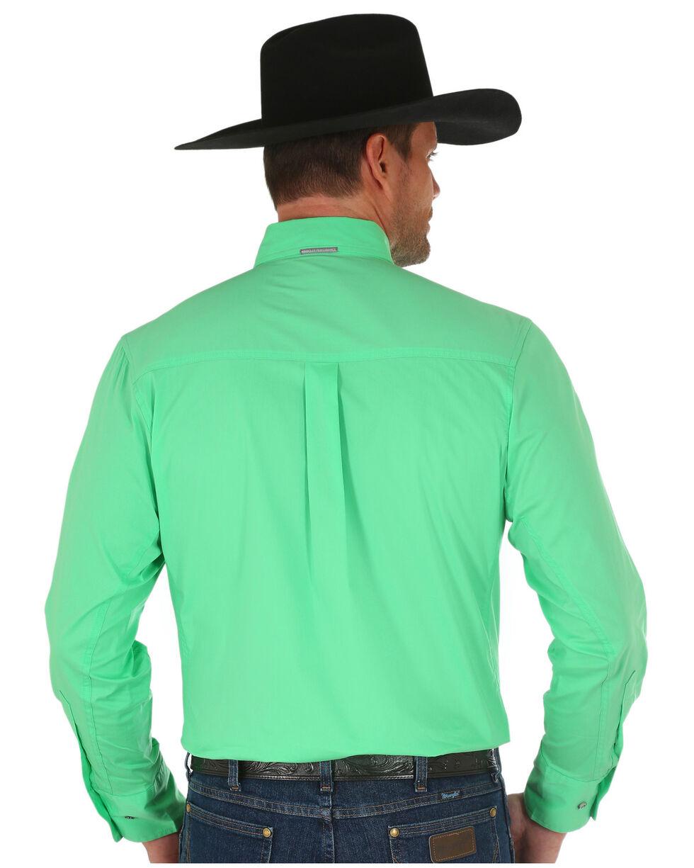 Wrangler Men's Green Performance Shirt , Green, hi-res