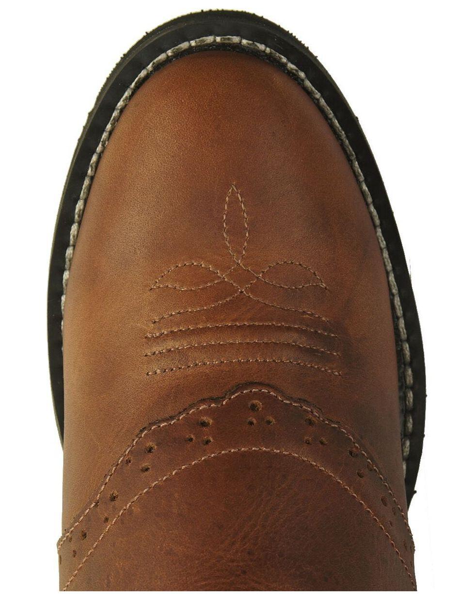 Jama Children's Comfort Wear Western Boots, Brown Multi, hi-res