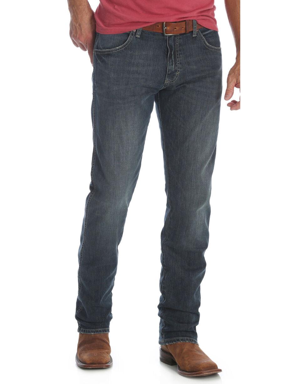 Wrangler Men's Jerome Retro Slim Fit Jeans - Straight Leg , Indigo, hi-res