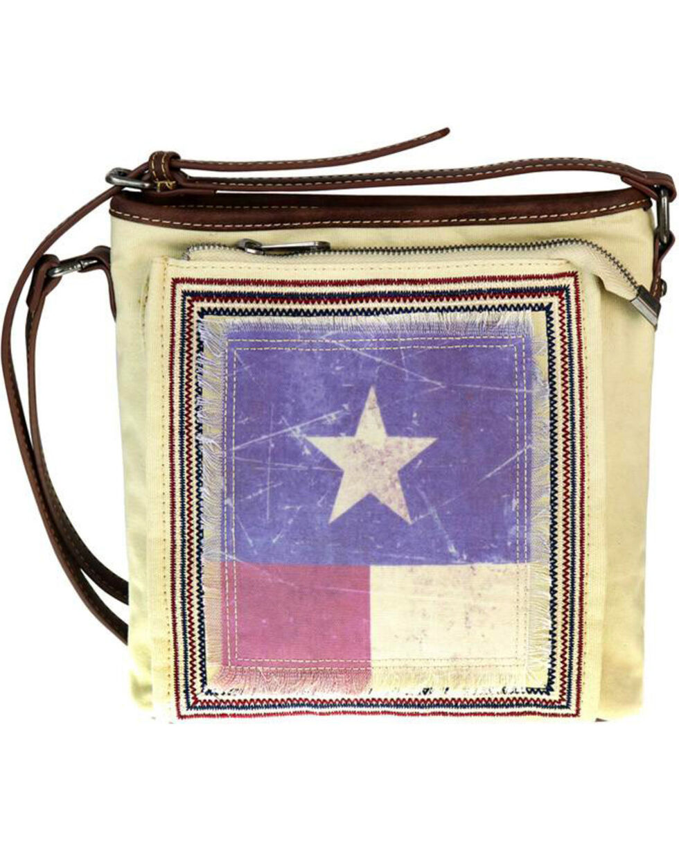 Montana West Women's Texas Pride Conceal Carry Messenger Bag , , hi-res