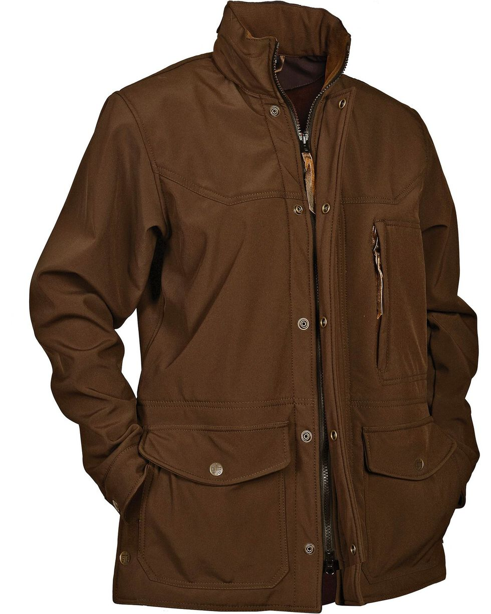 STS Ranchwear Men's Brazos Brown Jacket - Big & Tall - 4XL, Brown, hi-res