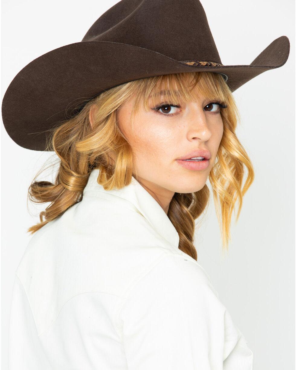 Wrangler Women's Ivory Snap Long Sleeve Western Shirt, Ivory, hi-res
