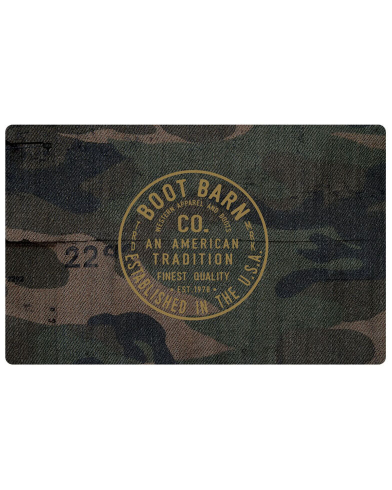 Boot Barn® American Tradition Camo Gift Card, No Color, hi-res