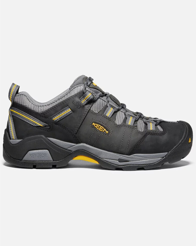 Keen Men's Detroit XT ESD Work Boots - Soft Toe, Grey, hi-res