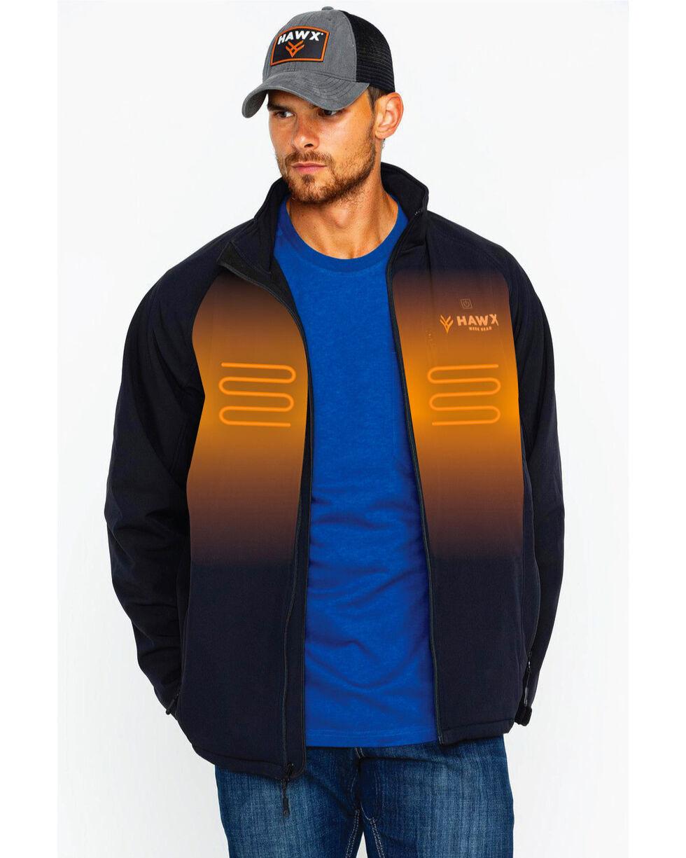 Hawx® Men's Gobi Heated Work Jacket , Black, hi-res