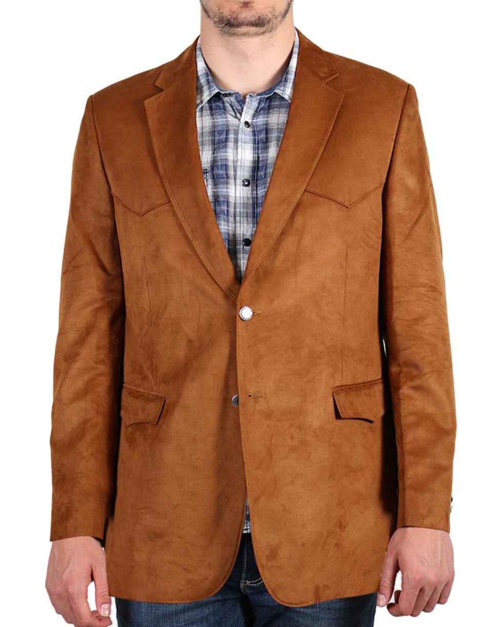 Cody James® Men's Solid Sport Coat, Brown, hi-res