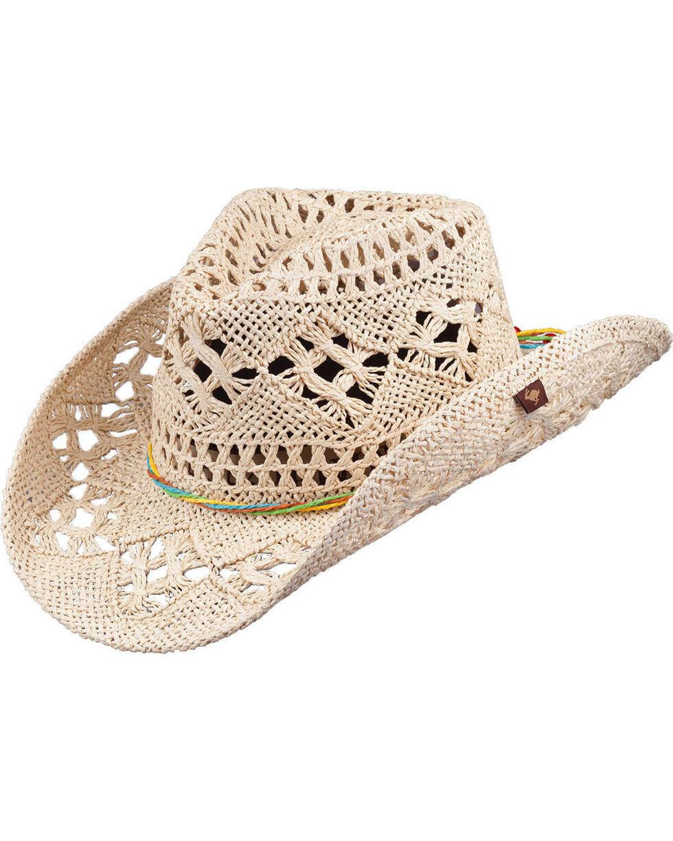 Peter Grimm Ariel Natural Straw Cowgirl Hat, Natural, hi-res