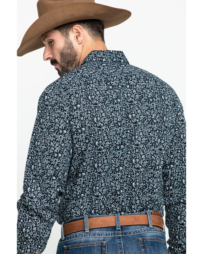 Cinch Men's Modern Fit Multi Floral Print Long Sleeve Western Shirt , Multi, hi-res