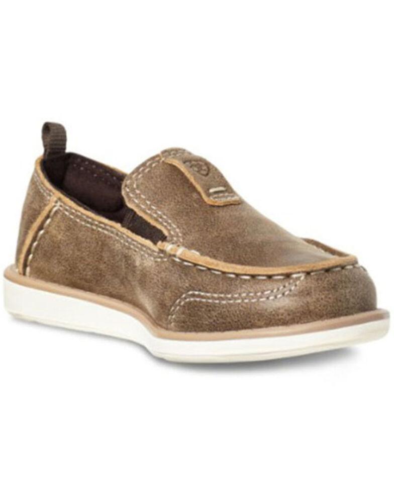 Ariat Boys' Cruiser Shoes - Moc Toe, Brown, hi-res
