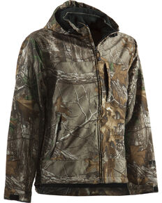 Berne Shedhorn Realtree Camo Softshell Work Jacket - Big , Camouflage, hi-res