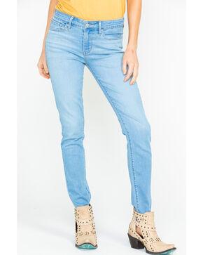 Levis Women's Breezy Sea Classic Light Straight Jeans , Blue, hi-res