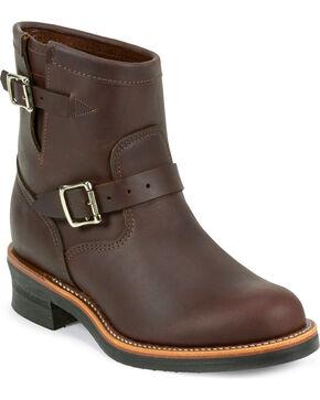 """Chippewa Men's Cordovan 7"""" Engineer Boots, Cognac, hi-res"""