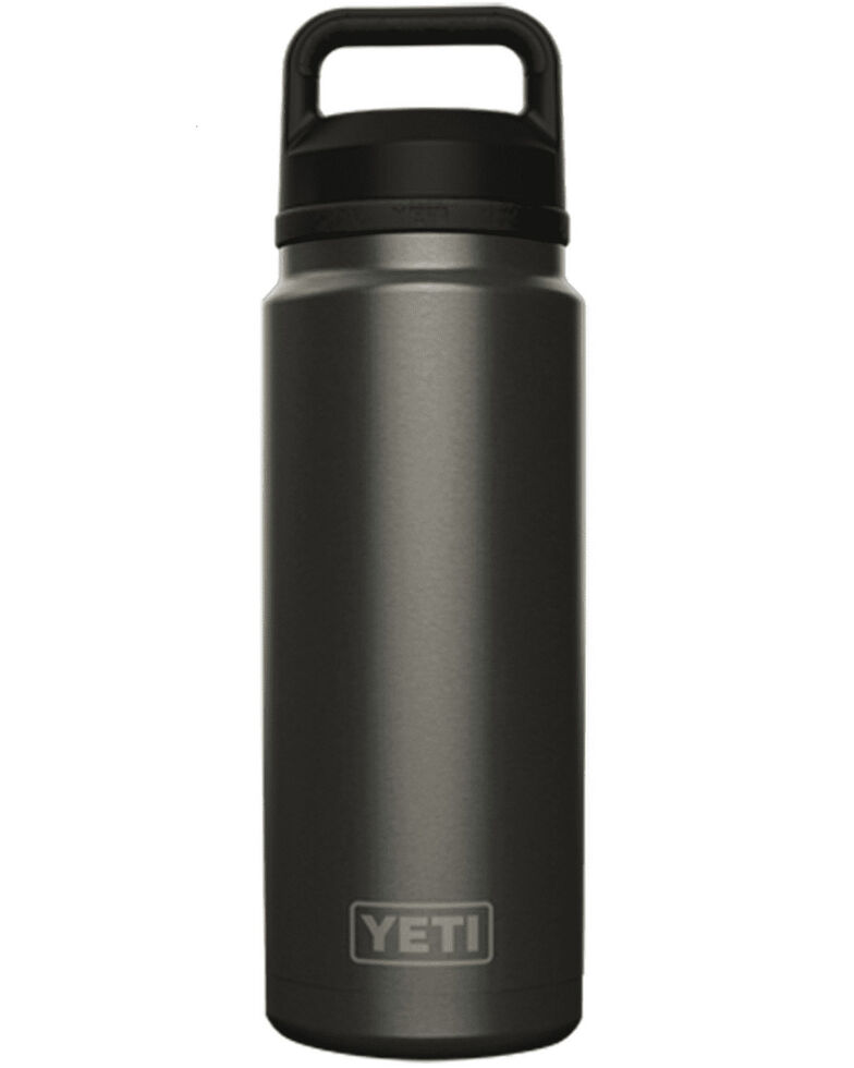 Yeti Rambler 36oz Graphite Chug Bottle, Dark Grey, hi-res