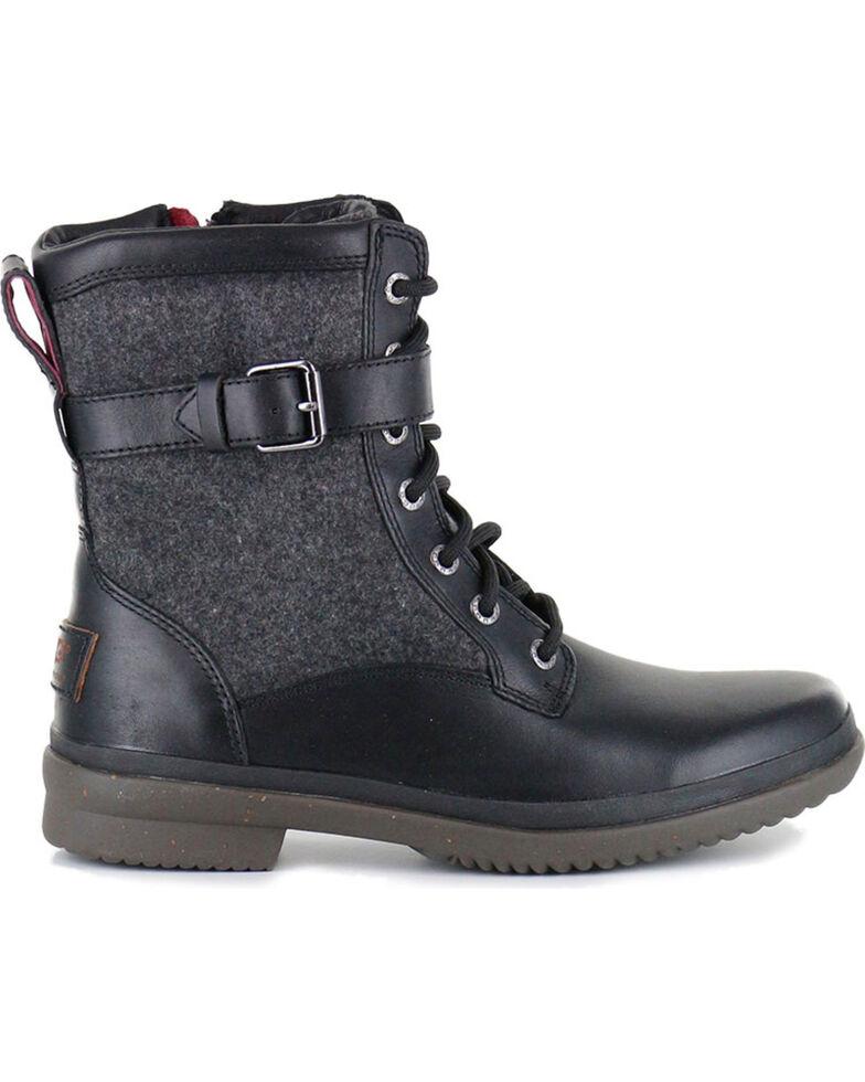 UGG Women's Black Kesey Fashion Boots - Round Toe , Black, hi-res