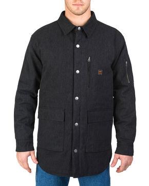 Walls Men's Shirt Jacket with Kevlar, Black, hi-res