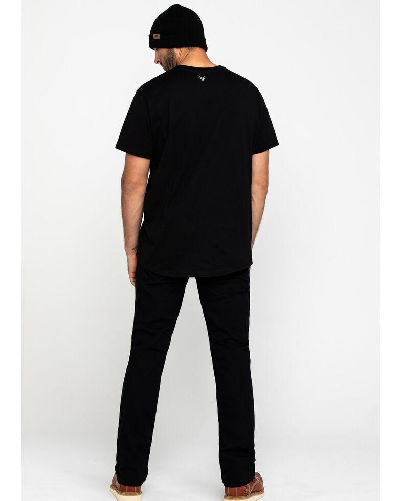 Ariat Men's Black Rebar M4 Made Tough Durastretch Straight Leg Work Pants , Black, hi-res
