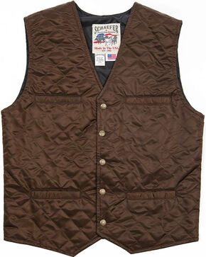 Schaefer Outfitter Men's Chocolate Canyon Vest -  Big 2X , Chocolate, hi-res