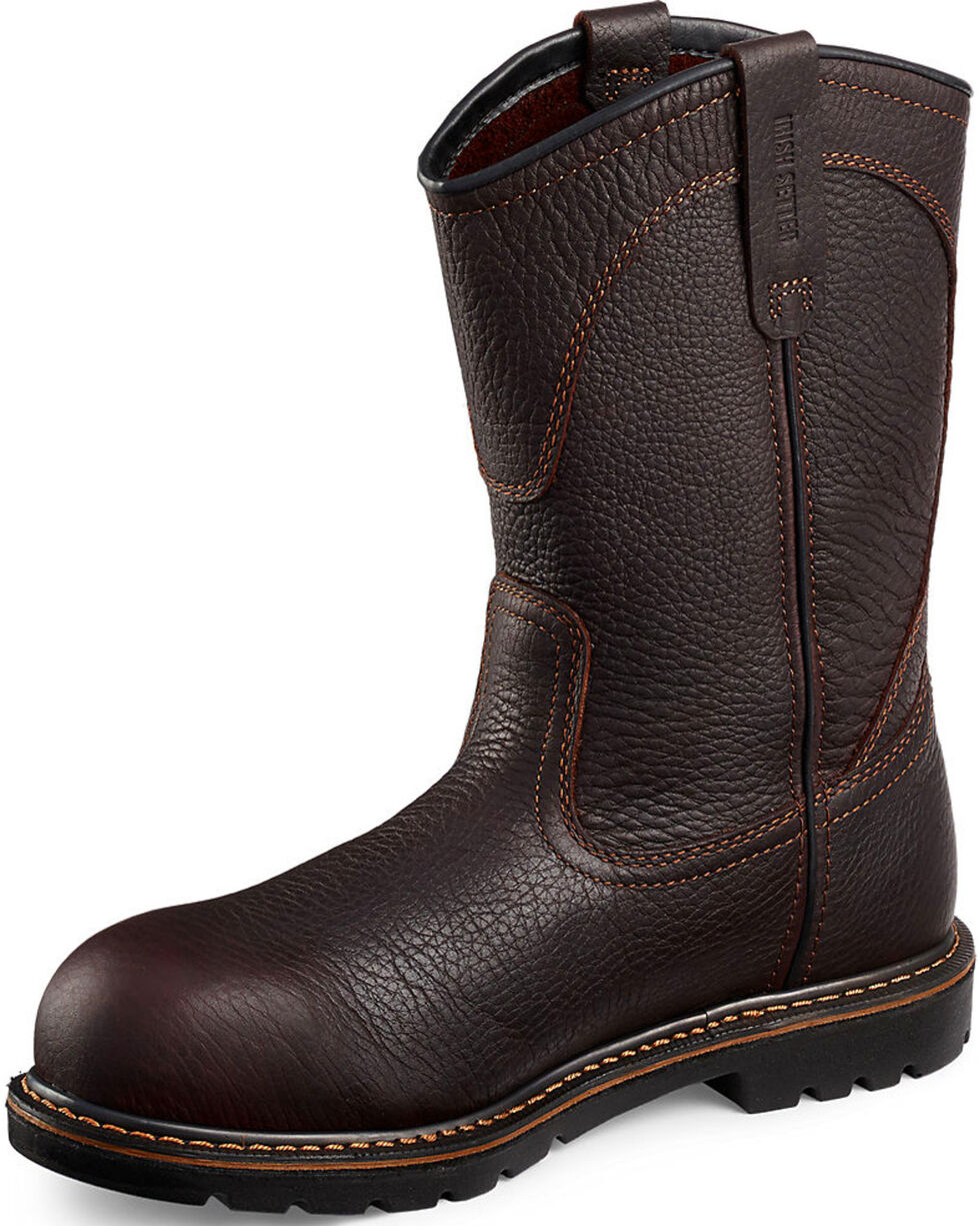 Irish Setter by Red Wing Shoes Men's Farmington EH Pull-On Work Boots - Aluminum Toe, Brown, hi-res