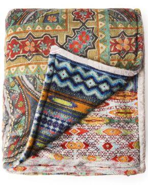 Johnny Was Patchwork Cozy Blanket, Multi, hi-res