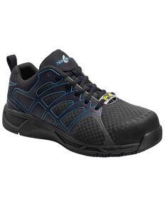 Nautilus Men's Slip Resistant Athletic Work Shoes - Composite Toe, Grey, hi-res