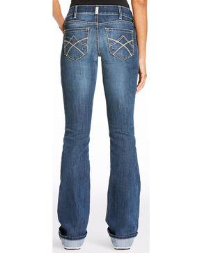 Ariat Women's R.E.A.L. Tulip Mid Rise Jeans - Boot Cut, Indigo, hi-res