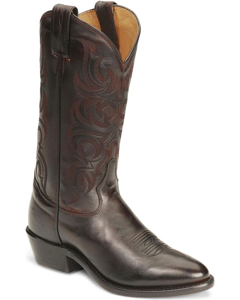 Tony Lama Men's Americana Signature Western Boots, Black Cherry, hi-res