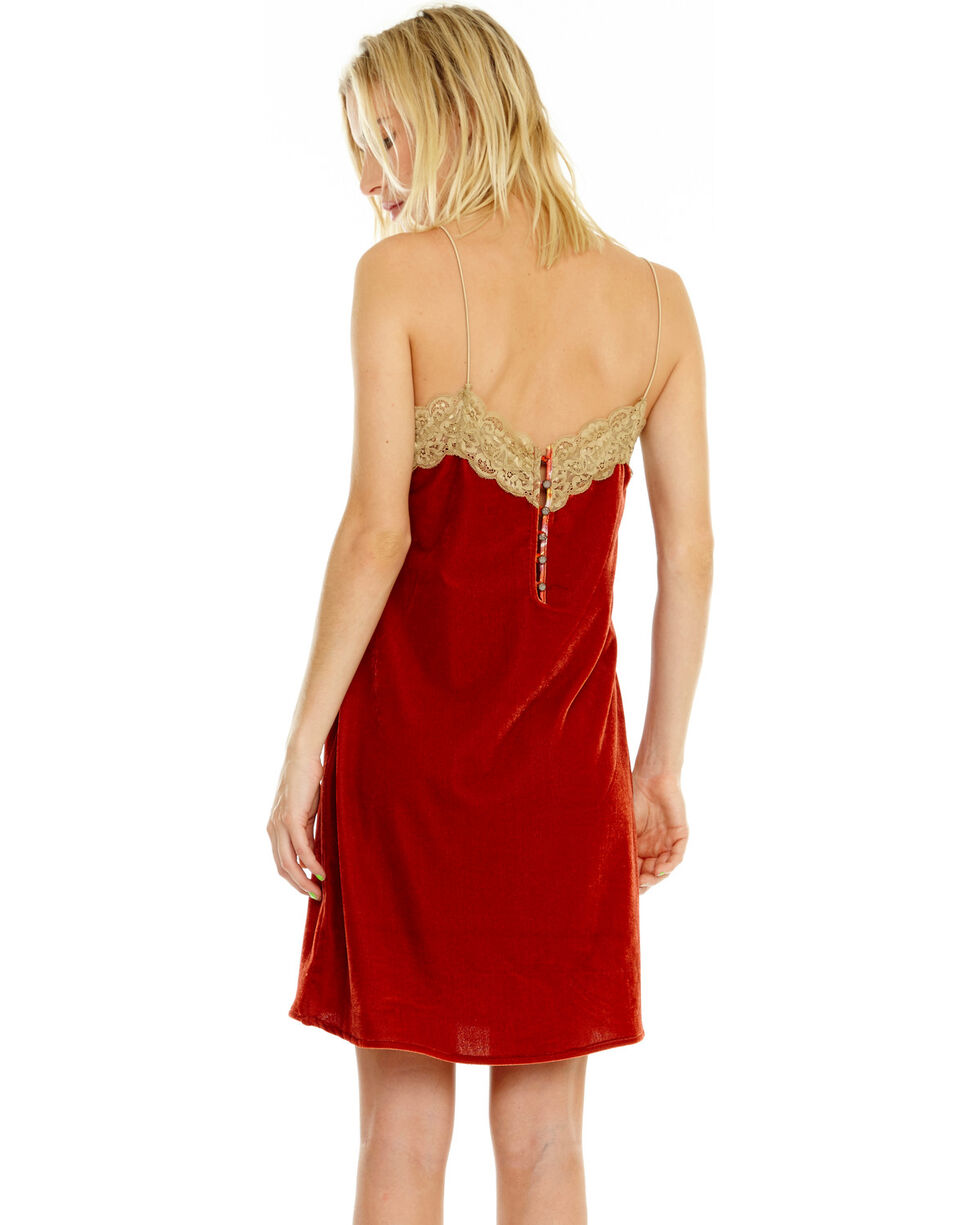 Aratta Women's Short And Sweet Mini Dress, Rust Copper, hi-res