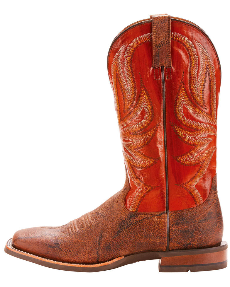 Ariat Men's Range Boss Trusty Brown Cowboy Boots