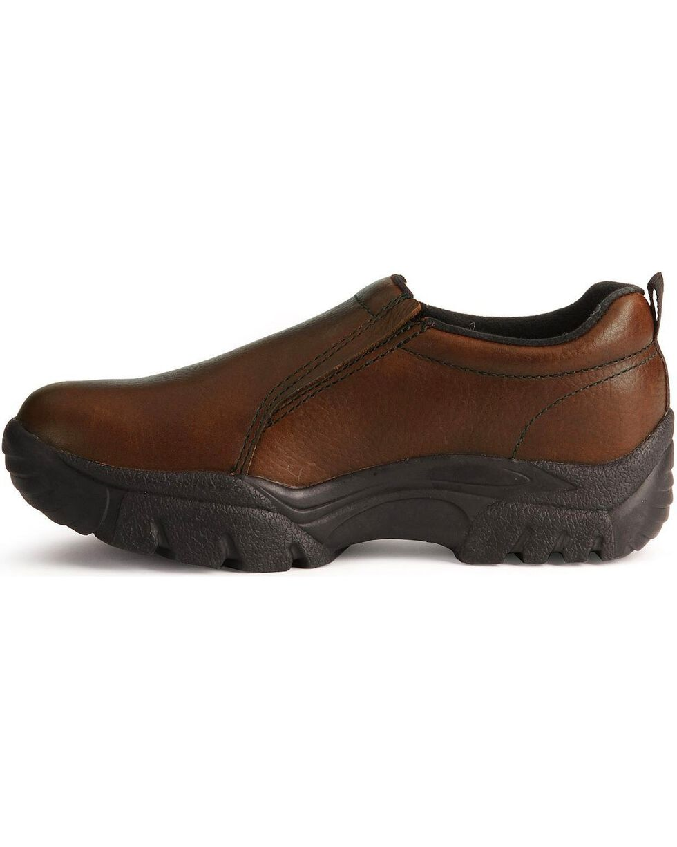 Roper Footwear Men's Performance Sport Slip On Shoes, Bay Brown, hi-res