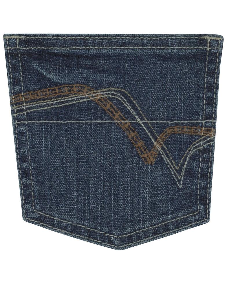 Wrangler 20X Boys' No 42 Clyde Park Vintage Boot Jeans , Blue, hi-res