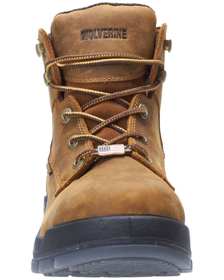 Wolverine Men's Ramparts Work Boots - Soft Toe, Tan, hi-res